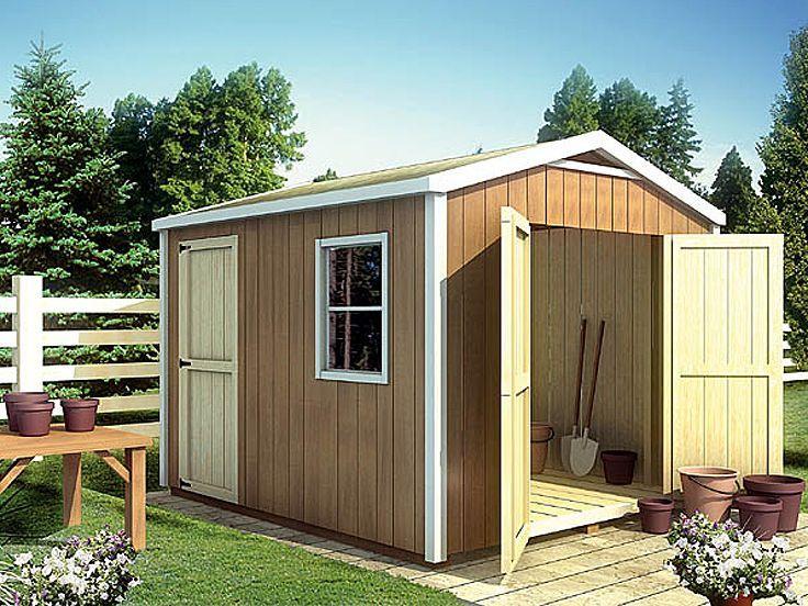 17 best shed plans with multiple sizes images on pinterest sheds garden houses and garden sheds. Black Bedroom Furniture Sets. Home Design Ideas
