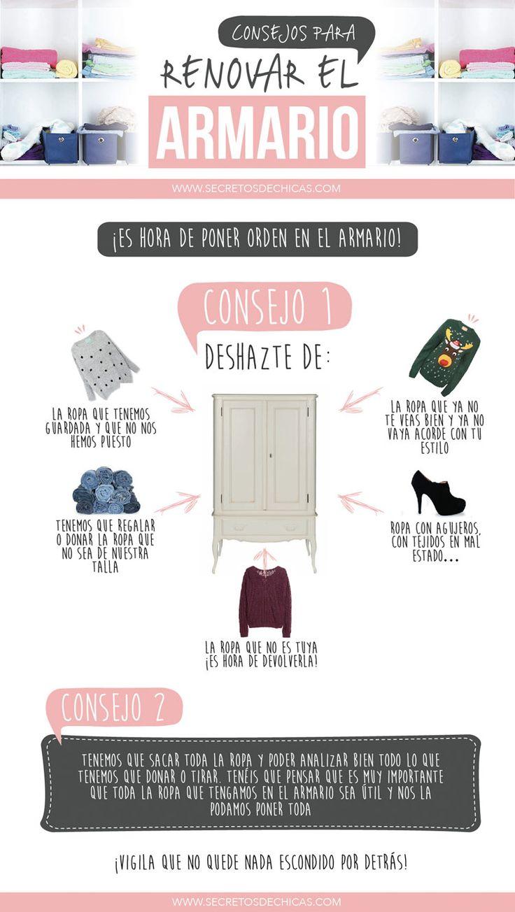 Consejos renovar armario
