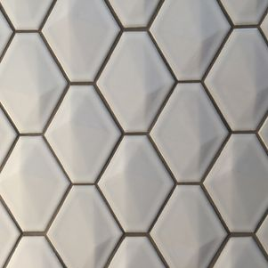 Diamond White 3d Mosaics - Products - Surface Gallery