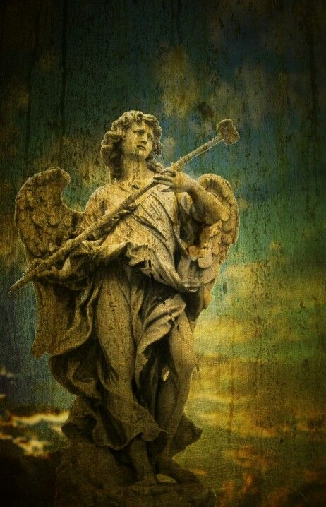 Angel + statue + photo + art 205