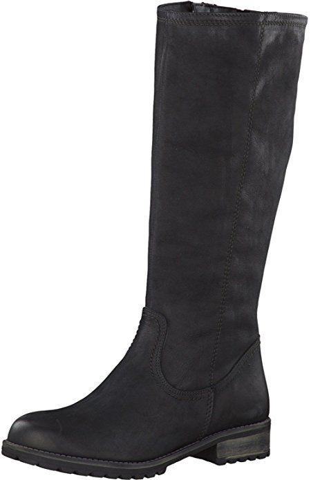 Tamaris Damenschuhe 1-1-26690-29 Damen Stiefel, Boots, Damen Stiefeletten, Herbstschuhe & Winterschuhe für modebewusste Frau schwarz (BLACK), EU 36