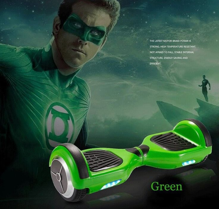 Fashion New Arrival Two Wheels Smart Self Balancing Unicycle Scooters Drifting Board Electric With LED Light (Green)