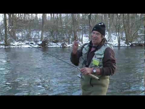 ▶ Winter Trout fishing - YouTube