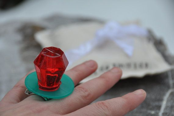 Will you be my Bridesmaid ring pop box will you be by laceandtwig