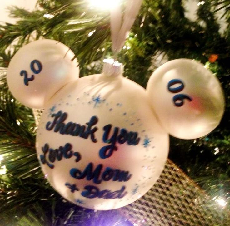 I painted this ornament! That was my hand-writing during my first year as an artist at Liberty Square in the Magic Kingdom.