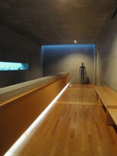 The Benesse House Hotel, Naoshima Island Art complex, Japan designed by Tadao Ando Architects