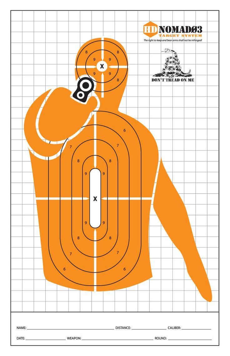 Target handgun