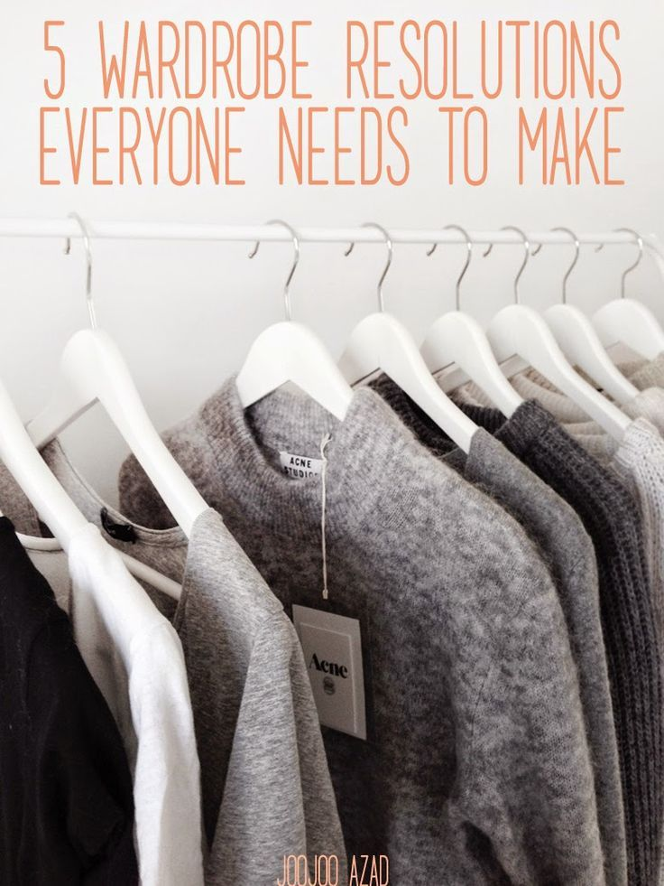 Do you get as pumped about the minimal wardrobe lifestyle as I do? Here's a list of important steps to consider when making the shift!