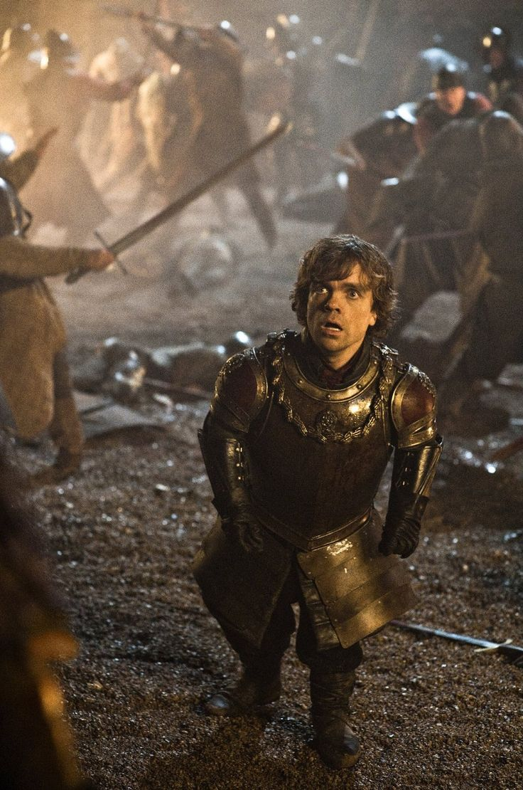 Tyrion at the Battle of Blackwater Bay