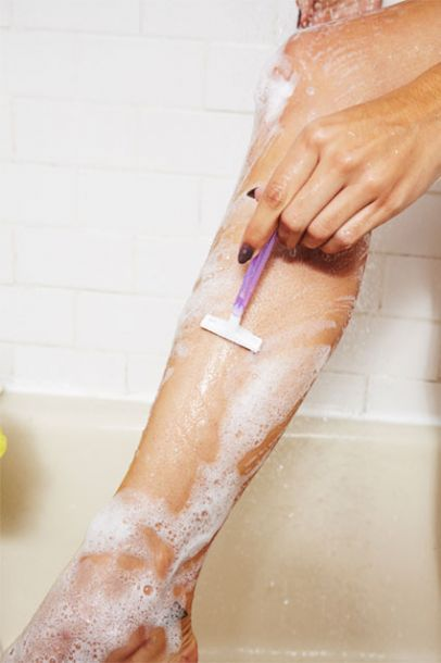 The Secret To A Super-Close Shave | Exfoliate Legs The Same Day You Shave