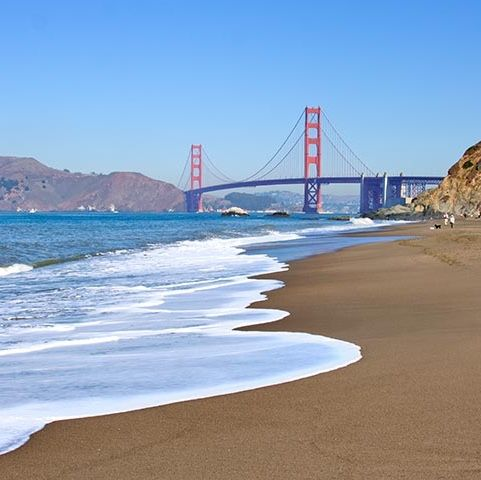 Baker Beach San Francisco California | The best beaches in