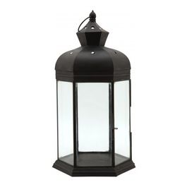 This lantern works perfectly in a #mediterranean home!