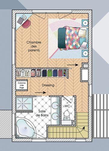 Maison bois - Détail du plan de maison bois | Faire ...