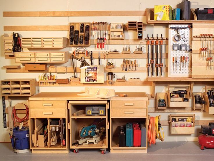 Hyperorganize Your Shop - A hook-and-slat wall system puts everything at your fingertips. - Popular Woodworking Magazine - This story originally appeared in American Woodworker November 2006, issue #125.