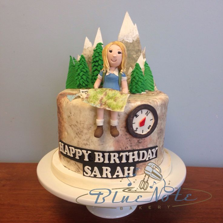 Hiking Cake: 180 Best Images About Birthday Cakes On Pinterest