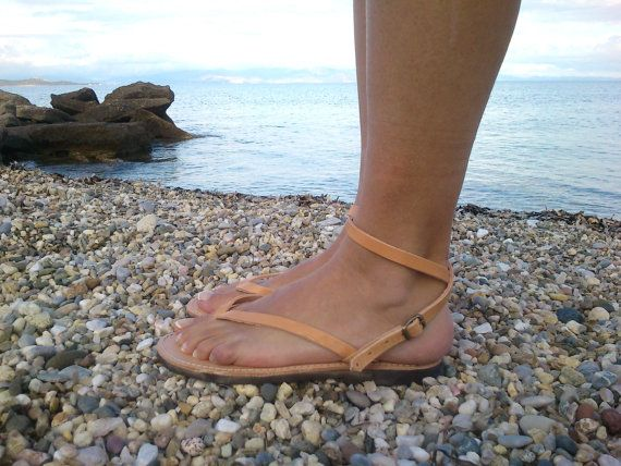♥ A pair of high quality,100% genuine Greek leather sandals ♥ You can wear them all day, they are very comfortable ♥ Perfect for everyday