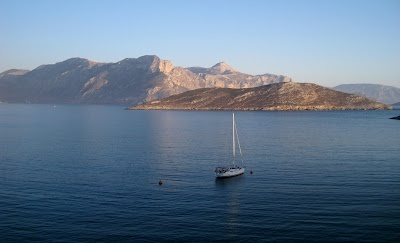 Emborios Bay, Kalymnos, Greece; BRIAN SIBLEY : his blog