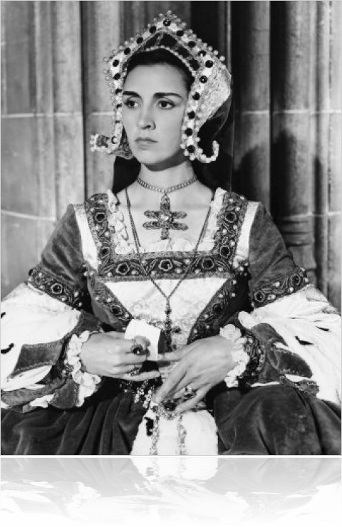 Queen Katherine of Aragon, First Wife of Henry VIII The Sword and the Rose (1953) - Rosalie Crutchley