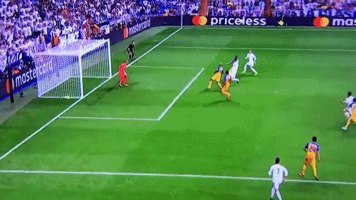 Sergio Ramos bicycle kick goal against APOEL . Real Madrid 3-0 APOEL