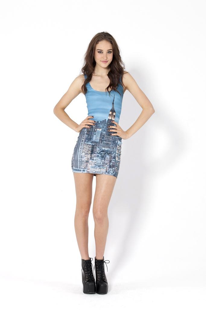 New York Skyeline Dress