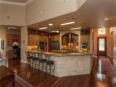 Resort-Style Family Retreat: 103 Happy Trl San Antonio, TX 78231 United States #KSIR #Kitchen
