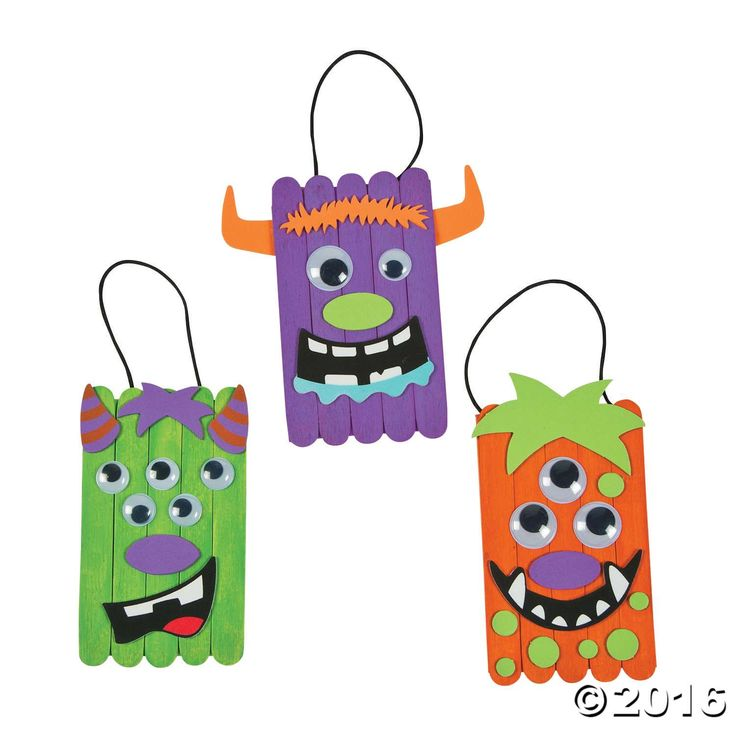 This craft kit for kids is monstrously fun! Make some silly classroom decorations and bring the spirit of the season into your learning space, or hand them ...