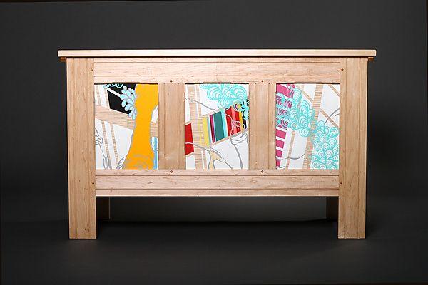 Modern Blanket Chest: Reid Anderson: Wooden Chest | Artful Home