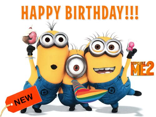 50 Best Images About Birthday Greetings On Pinterest Minion Happy Birthday Wishes