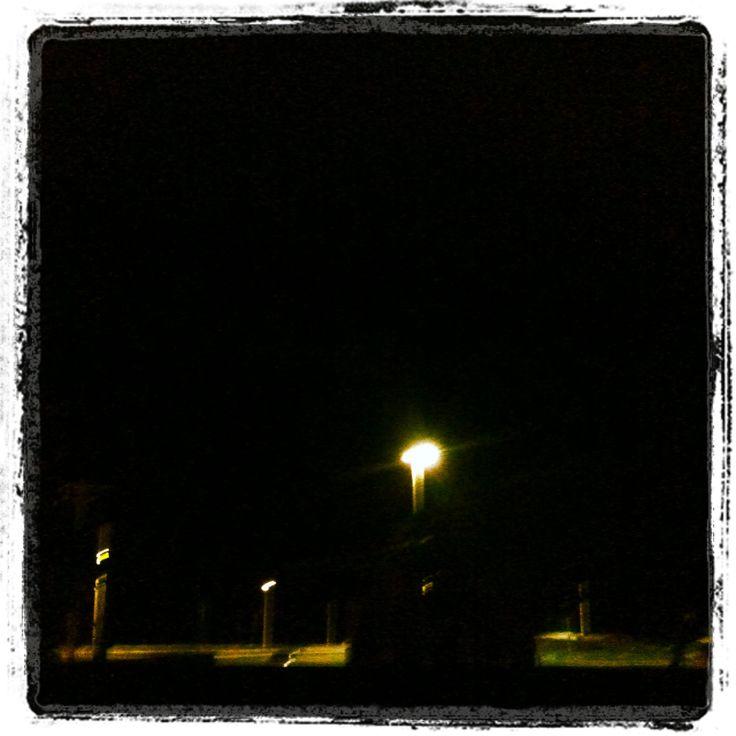 Darkness beach...