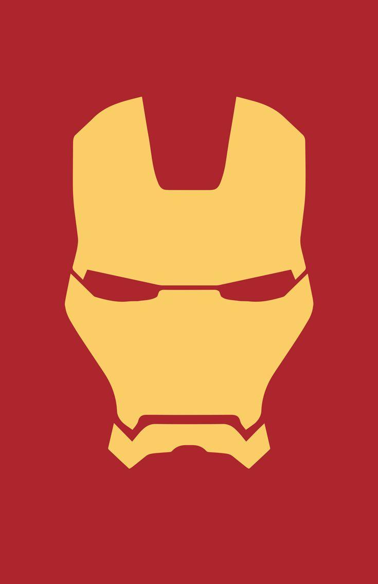 minimalist Iron Man mask by burthefly