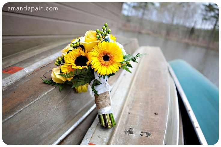 Sunflower and twine