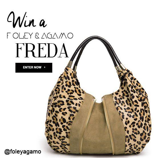 Win a Freda Tote! Enter goo.gl/GXziB0 Follow Us xx #win #foleyandagamo #handbag #leather #initowinit #giveaway #competition #fashion #leather #style
