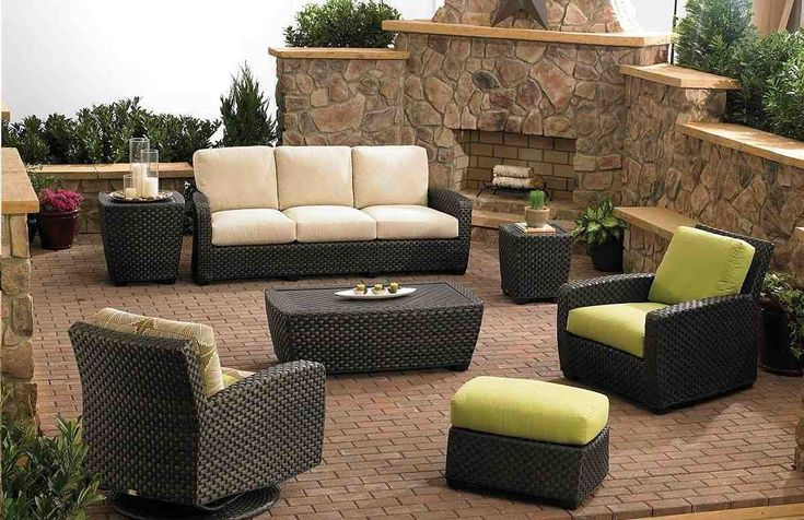 Pictures of garden patio wicker outdoor furniture now on tampa