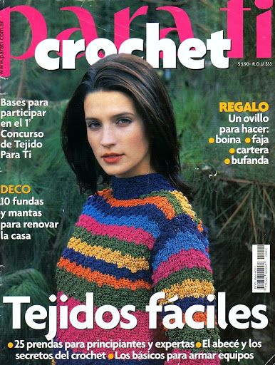 Para Tí Crochet Nº 01 - Melina Crochet - Picasa Webalbumok