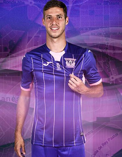 CD Leganés 17-18 La Liga Home, Away & Third Kits Released - Footy Headlines