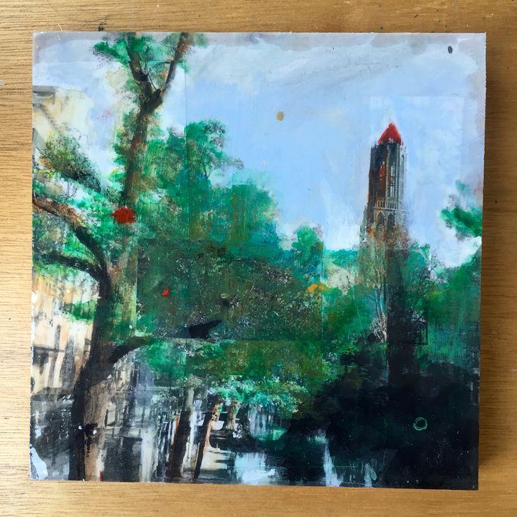 Photo artwork of Utrechts Dom tower. http://www.studioblomm.nl