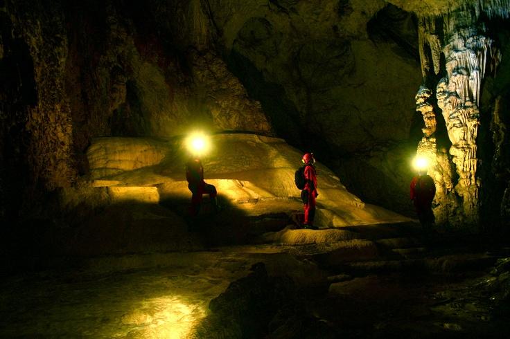 Caving in  Apuseni Mountain