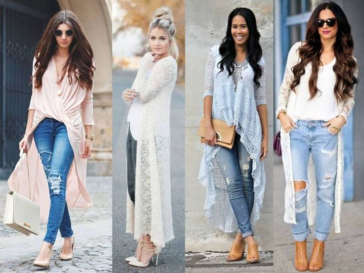 lace cardigan outfits,  How to wear lace outfit http://www.justtrendygirls.com/how-to-wear-lace-outfit/