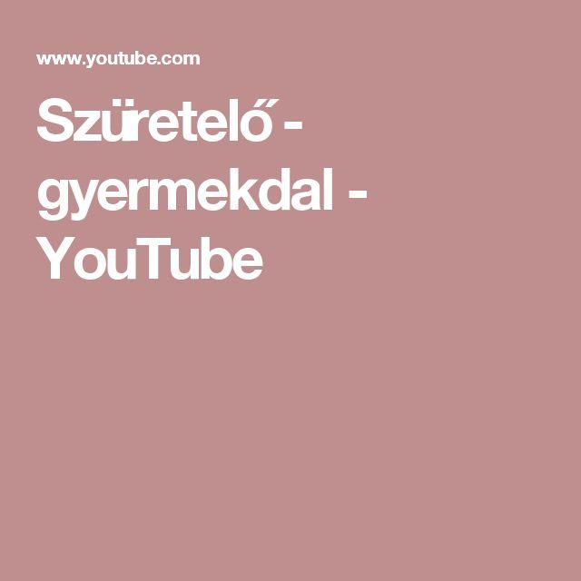 Szüretelő - gyermekdal - YouTube