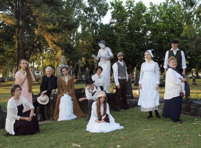 2013 Cast of Shadows of the Past by Cairns & District Family History Society.