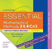 ebook (downloadable pdfs) Essential Mathematical Methods CAS Units 3&4 TIN/CP Complete Worked Solutions