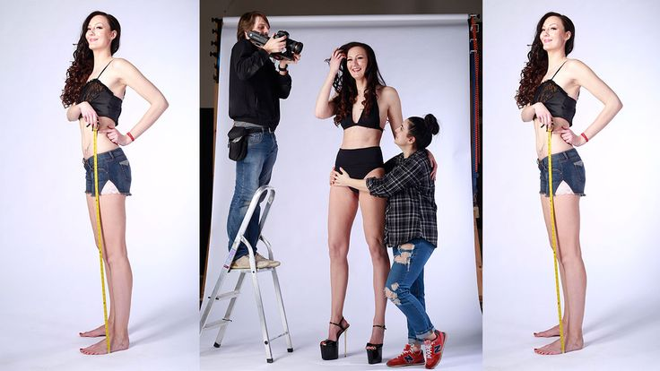 Russian model and Olympic athlete wants to set record for world's longest legs
