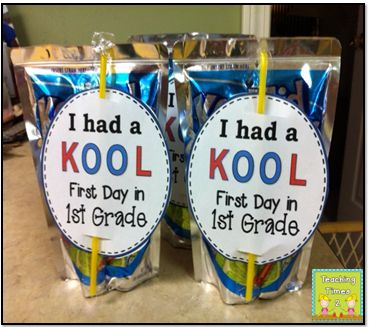 First Day of School Sweet Treats!!