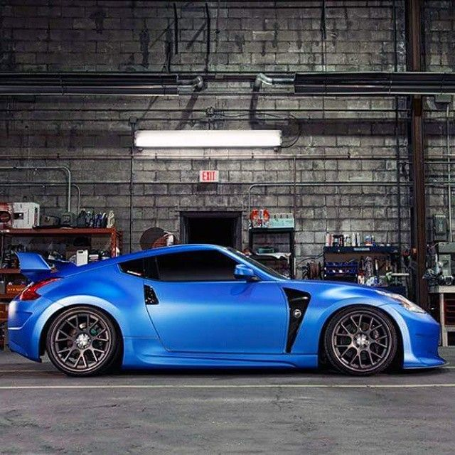 Car Nissan 370z Tuning Stance Lowered Garage Jdm