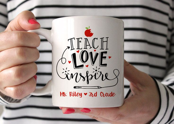 Teacher Gifts Teacher Mug Christmas Gifts for Teachers Personalized Teacher Gift Teacher Christmas Gift Ideas Preschool Teacher Gifts New by fieldtrip on Etsy https://www.etsy.com/listing/279773816/teacher-gifts-teacher-mug-christmas