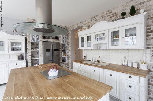 Landhaus Kueche weiß mediterran italienisch