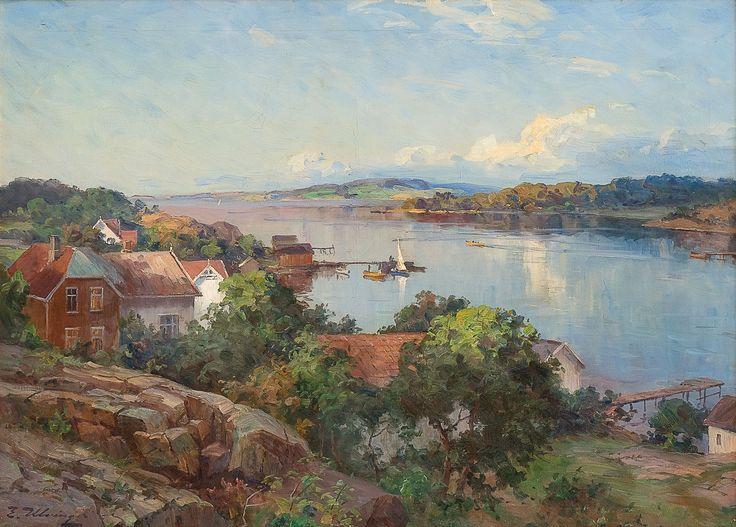Even Ulving 1863-1952: From Årøysund by Nøtterøy