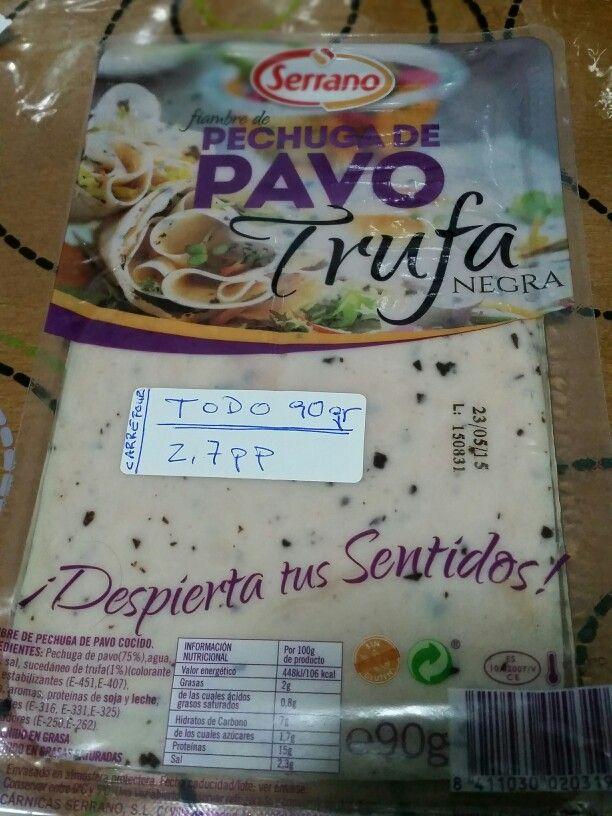 Carrefour Refrijerados  TODO (90 gr) : 2,7 pp