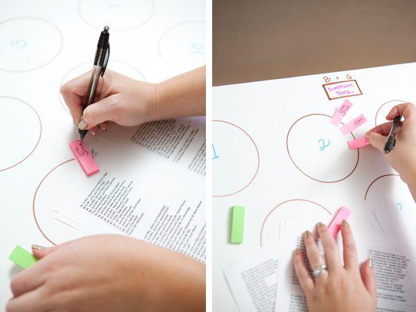 DIY Wedding Seating Chart | Wedding Planning, Ideas & Etiquette | Bridal Guide Magazine