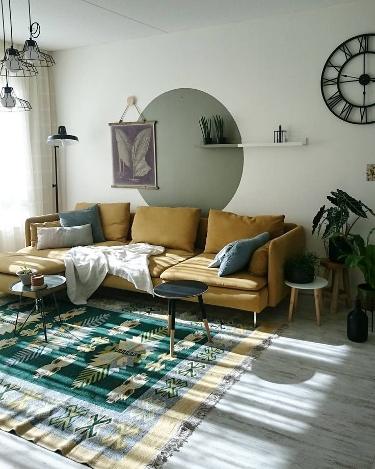 De SÖDERHAMN zitbank thuis bij @aysu.sener   #IKEABijMijThuis IKEA IKEAnederland wooninspiratie inspiratie zitbank woonkamer